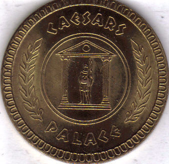 CAESARS PALACE  Casino Gaming TOKEN, Franklin Mint, Obsolete