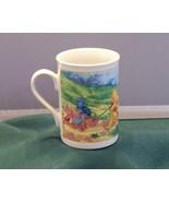 Winnie The Pooh Pulling Hunny Wagon 10 Oz Coffee Mug VGC - $6.50