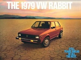 1979 Volkswagen RABBIT brochure catalog 79 US VW C L - $9.00