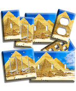 EGYPTIAN GREAT PYRAMIDS OF GIZA LIGHT SWITCH OUTLET WALL PLATE ROOM ART ... - $9.99+