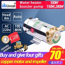 Automatic hot Water Pressure Booster Pumps 220v Solar Heater shower cont... - $115.90