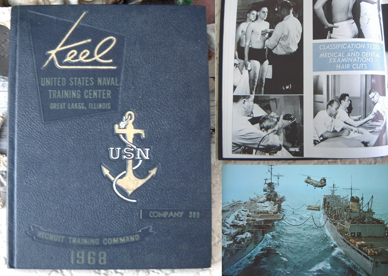 Primary image for 1968 United States Naval Training Company 309 Keel Yearbook