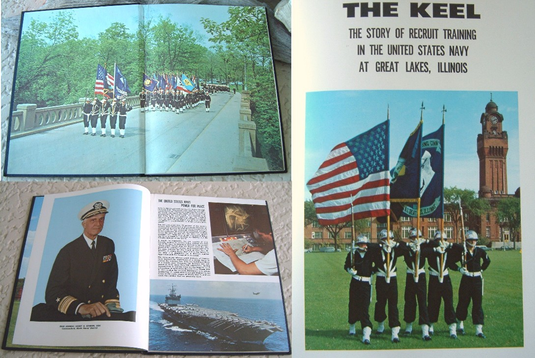 1968 United States Naval Training Company 309 Keel Yearbook