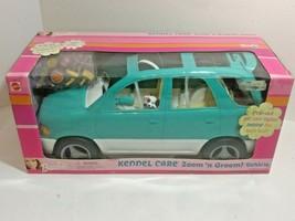 Barbie Kennel Care Zoom 'n Groom Vehicle SUV Van Teal Turquoise 2001 NIB 67384 - $79.15
