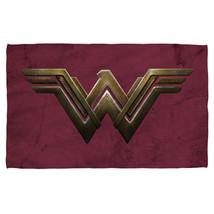 New Authentic Wonder Woman The Movie Emblem Sublimation Beach Towel - $32.66