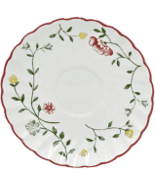 JOHNSON BROTHERS SUMMER CHINTZ SAUCERS SET/15 FLORAL MULTI MADE IN ENG... - $142.75