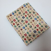 """1 Yards Christmas Fabric 44"""" wide 100% Cotton All is Calm All is Bright - $7.84"""