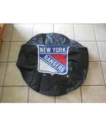 35 x 12.5 IN. New York Rangers HBS Black Vinyl Fitted Spare Tire Cover - $41.58
