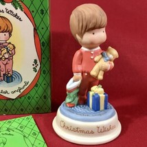 Vintage 1987 Avon Joan Walsh Anglund Joy of Christmas- Christmas Wishes Figurine - $13.98