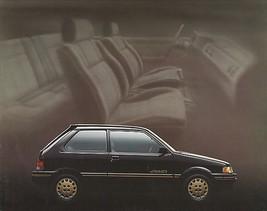 1989 Subaru JUSTY sales brochure catalog folder US 89 4WD DL GL RS - $8.00
