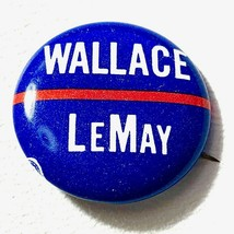 1972 Wallace Presidential Campaign Pin - US SELLER - $16.44