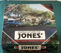 Keeping Up With The Jones' Financial Game 1993 Complete - $14.50