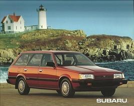 1992 Subaru LOYALE sales brochure catalog US 92 AWD - $6.00