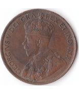 A Beautiful 1914 One Cent Coin from Canada, Nice Antique coin , Great color - €10,93 EUR