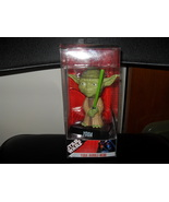 Funko 2007 Star Wars Wacky Wobbler Yoda Bobble-Head In The B - $14.99