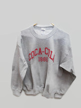 Coca-Cola Gray Sweatshirt with Red Block Logo and 1886 2X XXL - BRAND NEW - $41.58