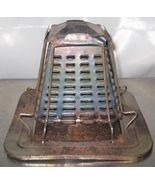 Vintage 30-50's Campfire 4 Slice Toaster Tin Metal Not Used Much - $25.00