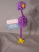 """Funky Pen - Stylo Rigolo - Big Bird Pen (yes it writes) approx. 9"""" tall - $5.10"""