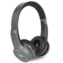 Monster ClarityHD Bluetooth Wireless Foldable On-Ear Headphones(Gray) - $75.77
