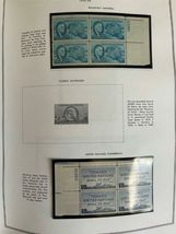 MNH 1938-1984 US Plate Block Collection Stamp Album Harris United States USA image 7
