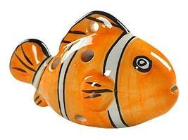Musical Instrument Ocarina for Child/Fish Ocarina, 6 Holes/Orange
