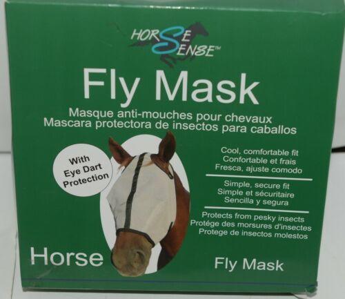 Horse Sense 101 Horse Fly Mask Eye Dart Protection New in Box
