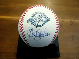 GRAIG NETTLES 1977-78 WSC YANKEES SIGNED AUTO 100TH ANNIVERSARY OML BASE... - $118.79