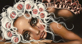 "Angelina Wrona, ""Dryin The Dishes"" 13 x 10 inch Fine Art Print - $14.95"