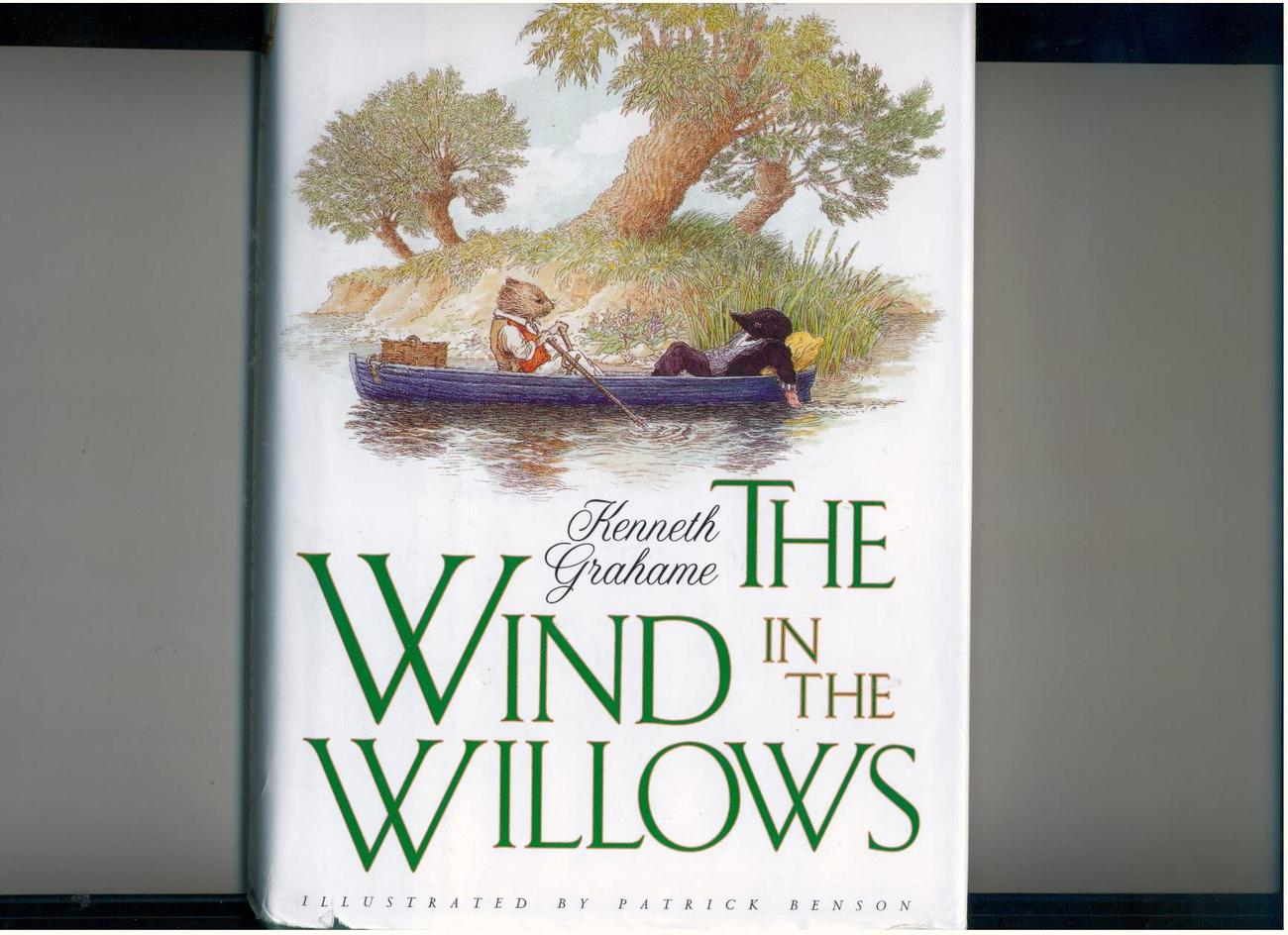 Grahame--WIND IN THE WILLOWS--1995, 1st U.S. pr. of newly illustrated edition