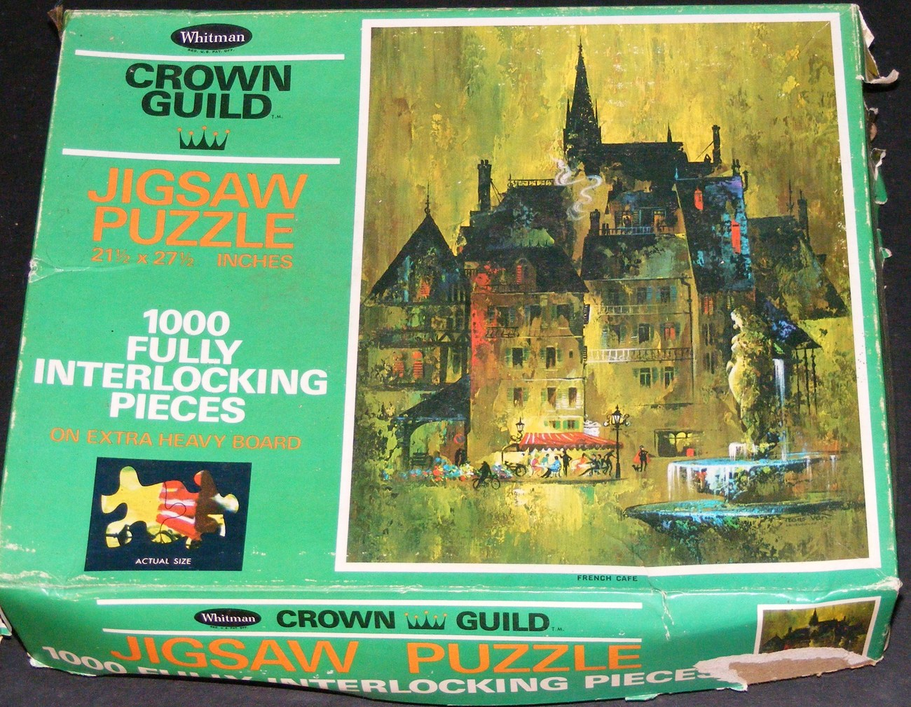 French Cafe Jigsaw Puzzle