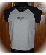 Pittsburgh STEELERS Reebok Ladies Spandex Shirt M/L NEW - $22.09