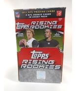 2011 Topps Rising Rookies Football Factory Sealed Unopened Hobby Box - $88.21