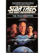 The Peacekeepers Star Trek TNG book 2 by Gene Deweese 1988 - $3.00