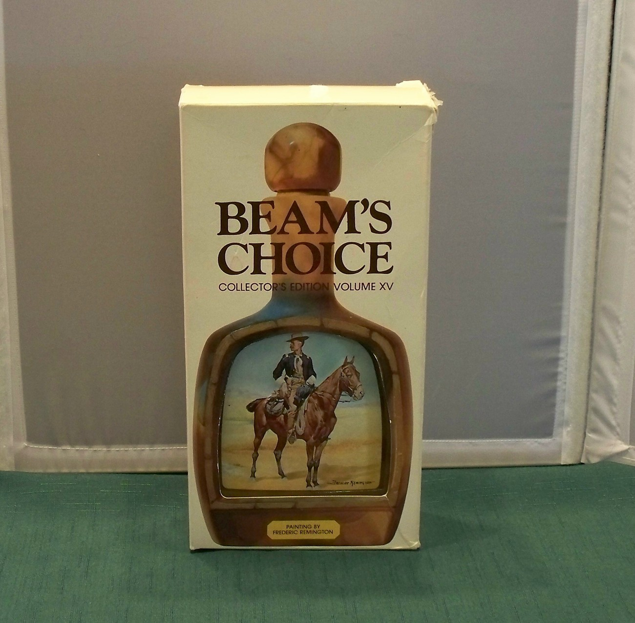 Beam's Choice Remington Decanter Original Box Empty VGC