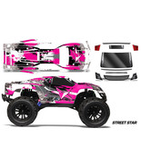 Rc Corpo Kit Grafica Decalcomania Avvolgere per Vaterra Halix Monster Truck - $29.72