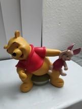 Winnie the Pooh Peek a Boo Ceramic Figure Piglet Walt Disney Attractions - $29.21