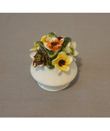 Healacraft Birthday Blooms Fine Bone China England September Floral Basket - $20.00