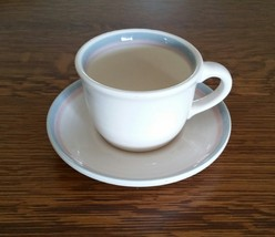 Pfaltzgraff Sunrise Pattern Cup and Saucer - $9.99