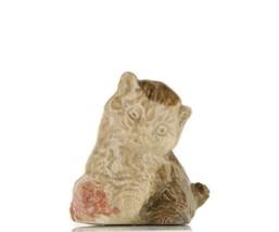 Wade Whimsies Porcelain Miniature Canadian Series Kitten image 1