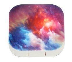 Colorful Clouds Pattern Contact Lens Box - $13.85