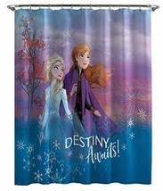 Jay Franco Disney Frozen 2 Destiny Awaits Shower Curtain, Multi - $34.61