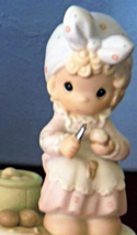 Precious Moments Always Take Time To Pray Girl Peeling Potatoes Figurine... - $24.99