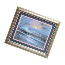 Embroidery Counted Cross Stitch Kit #543 Sea Sunset Storm 34X25 Cm / 13.39X9. - $40.99