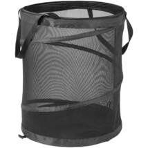 Honey-can-do Large Mesh Pop-up Hamper With Handles HCDHMP01127 - $36.29
