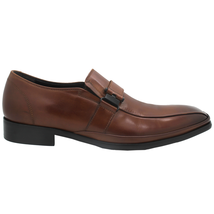 Kenneth Cole Reaction Men's Zap Strap Bike-Toe Loafers Dress Shoes, Cogn... - $34.65
