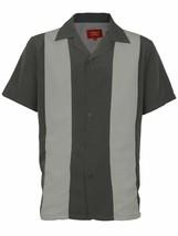 Men's Retro Classic Charlie Sheen Bowling Casual Dress Shirt w/Defect 3XL