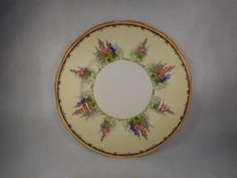 """Vintage Alfred Meakin Hollyhock 10"""" Dinner Plate - $34.60"""