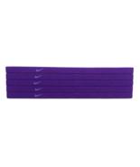 NEW Nike Unisex Running Headband Swoosh Sport PURPLE PURPLE Logo - $6.50