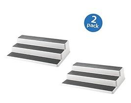 Copco 2555-0188 Non-Skid 3-Tier Cabinet Organizer, 15-Inch Plastic, Set ... - $33.30