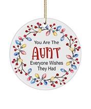 INTOMYZ Aunt Christmas Ornament - $19.75